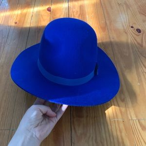 Braxton blue hat